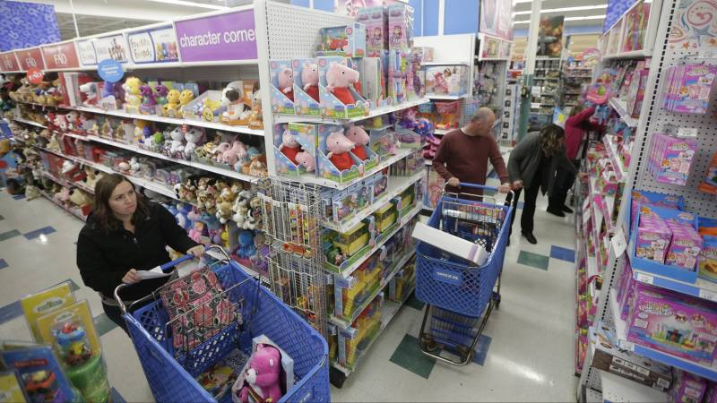 California requires supermarkets to offer gender-neutral toys