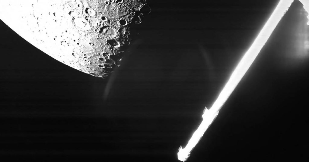 European-Japanese spacecraft takes first image of drilled Mercury |  Abroad