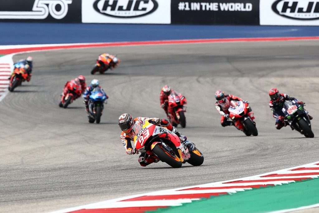 Marquez won in the United States GB