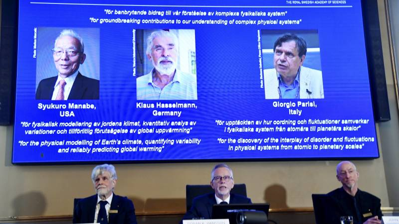Nobel Prize in Physics for Climate Models and Hidden Patterns