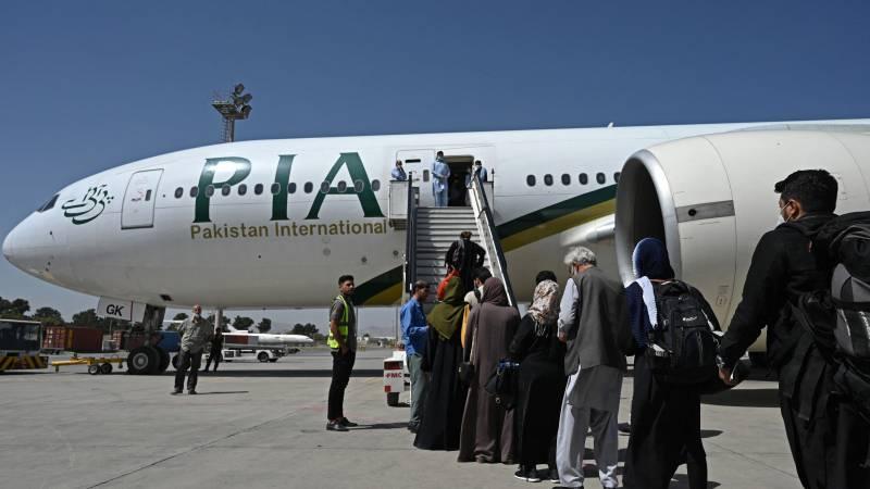 Pakistan International Airlines suspends flights to Kabul, evacuating interpreters is in danger