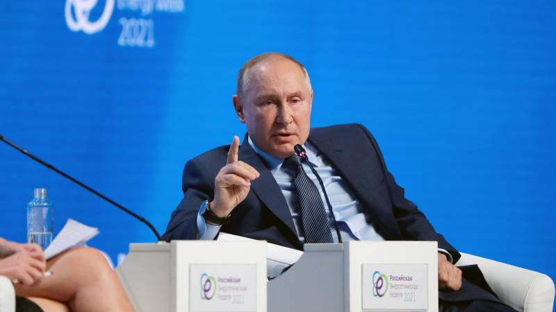 Putin on the gas crisis: Europe's role