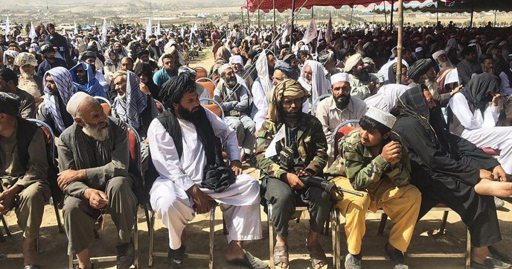 Taliban celebrate seizing power with demonstration near Kabul    Abroad