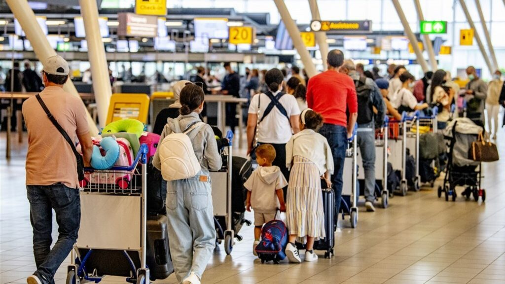 Test before your flight?  Busier now, and then the holidays haven't come yet