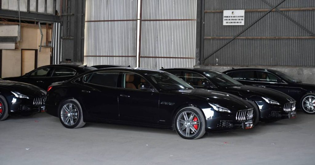 The government of this poor country bought 40 Maseratis and three Bentleys for a one-time bite |  the cars