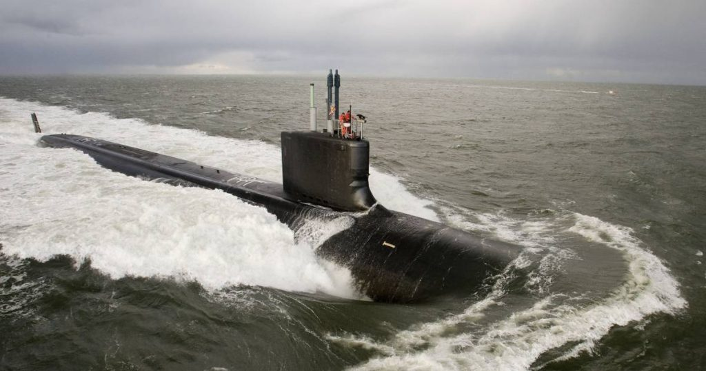 US couple arrested for spying on nuclear submarine    Abroad