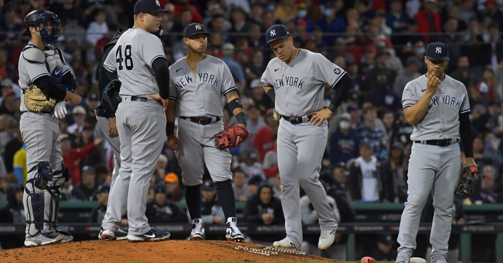 Yankees did.  The season ends with a heavy loss to the Red Sox.